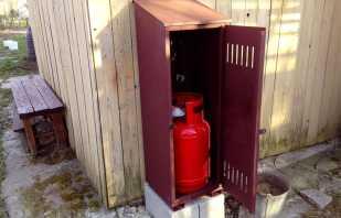 Aperçu des armoires de rue pour bouteilles de gaz, règles de sélection