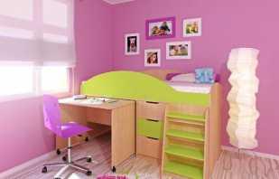 Caractéristiques et variétés de lits mezzanines pour les enfants à partir de 3 ans