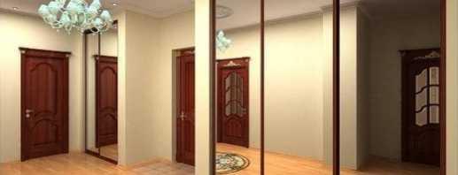 Aperçu des armoires encastrées pour le couloir, modèles photo