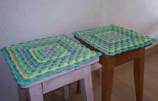 Atelier sur le crochet des housses de chaise et des tabourets