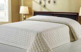 But des couvre-lits matelassés et leurs caractéristiques pour le bon choix