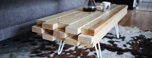 Comment faire une table à faire soi-même à partir de planches à domicile, recommandations