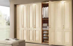 Vue d'ensemble des armoires à charnières, des nuances importantes de choix