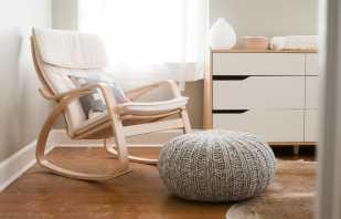 Modifications de la chaise Poeng d'Ikea, instructions de montage