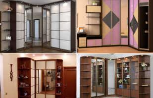 Quelles sont les tailles des armoires d'angle, des designs personnalisés