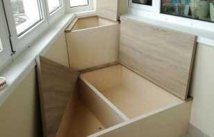 Options de mobilier pour le balcon, ainsi que des recommandations pour la sélection et le placement