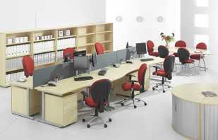 Règles de disposition du mobilier de bureau, conseils d'experts