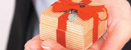 Sélection de cadeaux et de personnages