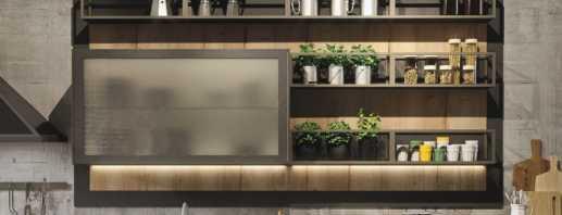 Aperçu des armoires de cuisine, règles de sélection