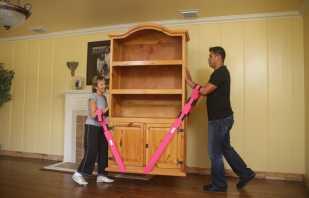 Conseils pour déplacer une armoire sans pieds sans rayures, les méthodes les plus efficaces