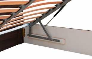 Options de mécanismes de levage pour le lit, les nuances de fonctionnement
