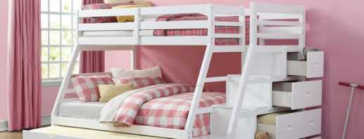Types de lits superposés pour enfants avec côtés, critères de sélection