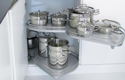 La fonctionnalité et les avantages du coin magique pour la cuisine, les règles du choix