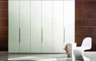 Aperçu des armoires blanches battantes, règles de sélection