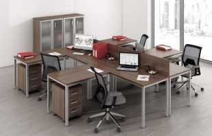Vue d'ensemble des meubles sur une structure métallique, caractéristiques et portée