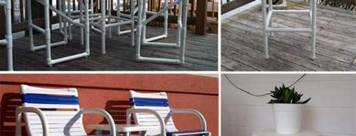 Fabriquer des meubles à partir de tuyaux en PVC, comment le faire soi-même
