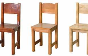 Conseils pour fabriquer une chaise haute de vos propres mains, classes de maître