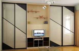 Options pour portes coulissantes pour armoires encastrées, leurs caractéristiques