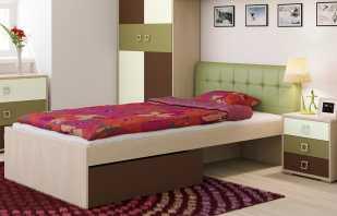 Variétés de lits à dos doux, tailles de meubles