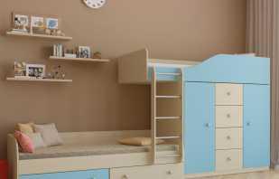 Lits superposés existants avec armoire et leurs caractéristiques