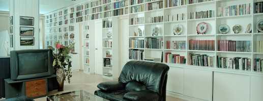 Comprend des bibliothèques et des bibliothèques pour la maison, une revue des modèles