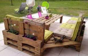 Options de meubles dans la véranda et la terrasse, caractéristiques de fonctionnement
