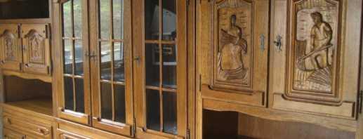 Caractéristiques des meubles en chêne, les nuances du choix et du fonctionnement