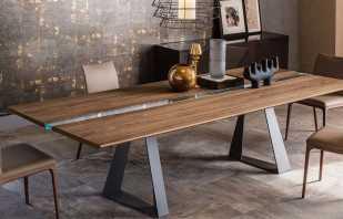 Avantages de faire une table dans le style loft de vos propres mains, master classes
