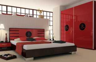 Caractéristiques des meubles rouges, les nuances de choix