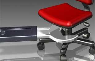 Apprendre à retirer correctement le vérin à gaz d'une chaise de bureau pour le remplacer