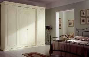 Aperçu des armoires de chambre et photos des options possibles