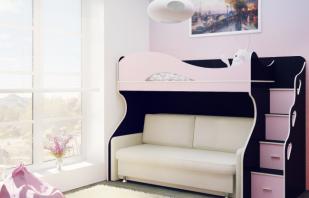Quels sont les lits superposés avec un canapé, ce qui détermine leur popularité