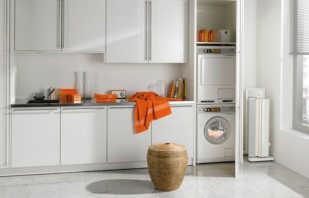 Quelles sont les armoires d'une machine à laver, les règles du choix