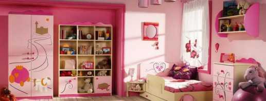 Caractéristiques du choix de meubles pour enfants pour filles, conseils d'experts
