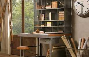 Caractéristiques des meubles dans le style loft, un aperçu des modèles