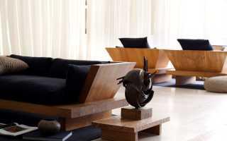 Une variété de meubles design à partir de matériaux personnalisés