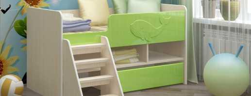 Lit mezzanine fonctionnel pour enfants, différents modèles