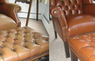 Comment réparer des meubles en cuir à la maison, des conseils d'experts