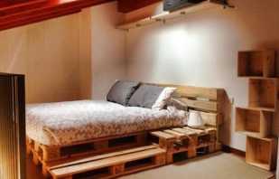 Options de lit de style loft, idées de conception créatives