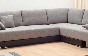 Quelles sont les dimensions d'un canapé angulaire, les mécanismes de transformation