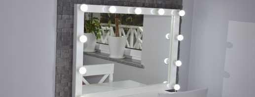Types de miroirs de maquillage avec éclairage, conseils de sélection et de placement