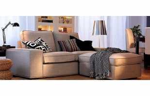 Modèles populaires de canapés Ikea, leurs principales caractéristiques
