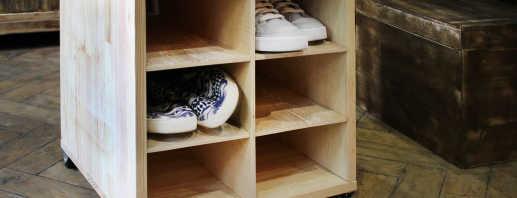 Comment fabriquer une armoire à chaussures de vos propres mains, des conseils d'experts