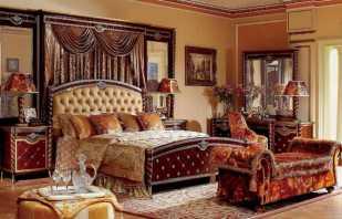 Caractéristiques des meubles de style Empire, les nuances de choix