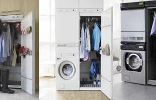 Aperçu des armoires de séchage pour vêtements, quels modèles se trouvent