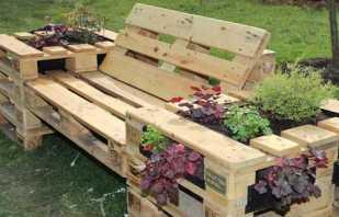 Comment fabriquer des meubles de jardin de vos propres mains, des exemples de dessins et de photos de produits maison réussis