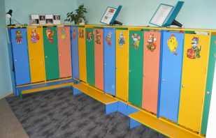 Variantes d'images pour les casiers à la maternelle, conseils de sélection