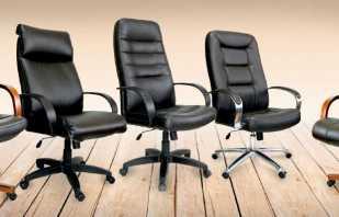 Comment régler correctement la chaise de bureau, la procédure