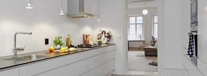 Kitchen Design Without Upper Cabinets And Photos Of Various Models