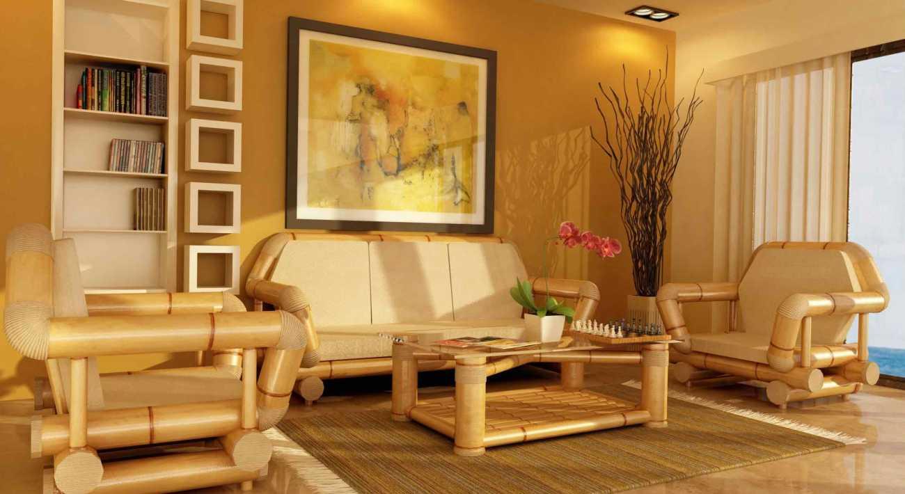 Caractéristiques des meubles en bambou, un examen des modèles